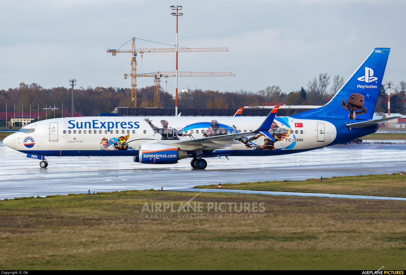 SunExpress TC-SNN aircraft at Berlin - Tegel