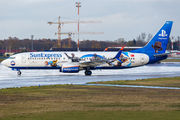 "SunExpress B738 in ""Sony PlayStation"" special colours  title="