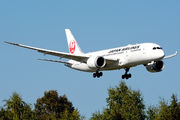 JA838J - JAL - Japan Airlines Boeing 787-8 Dreamliner aircraft