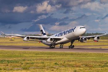 OH-LQG - Finnair Airbus A340-300