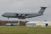 Two USAF Lockheed C-5Ms visit Wrocław title=