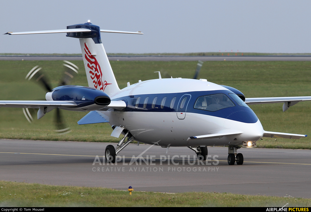 Private 5B-JBO aircraft at Luxembourg - Findel