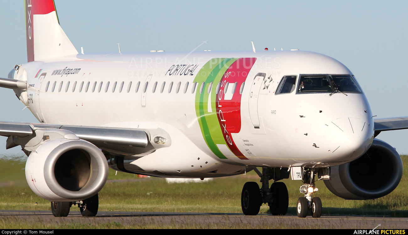 TAP Express CS-TPQ aircraft at Luxembourg - Findel