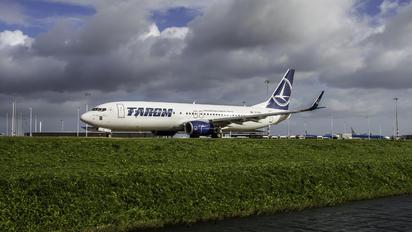YR-BCK - Tarom Boeing 737-800