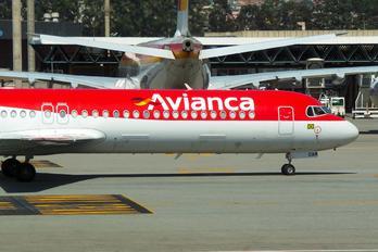 PR-OAM - Avianca Brasil Fokker 100