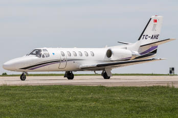 TC-AHE - Private Cessna 550 Citation Bravo