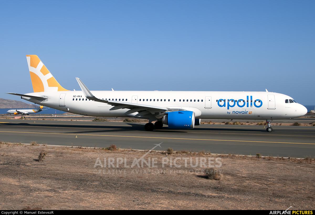 Novair SE-RKA aircraft at Aeropuerto de Gran Canaria