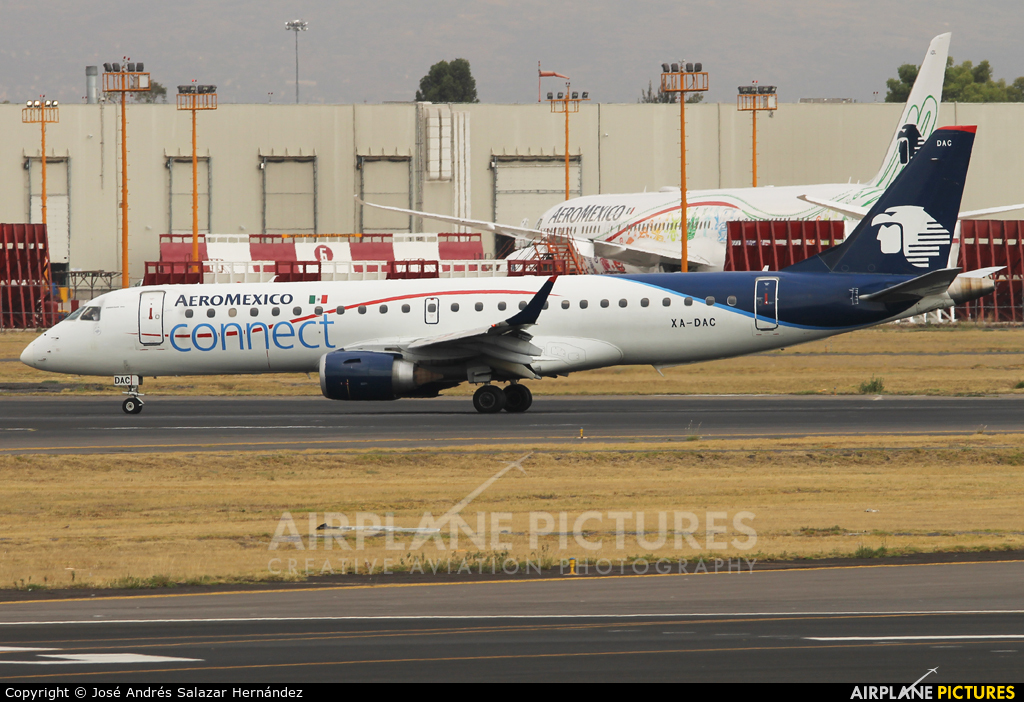 Aeromexico Connect XA-DAC aircraft at Mexico City - Licenciado Benito Juarez Intl