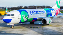 Transavia promoting Peter Pan Vakantieclub title=