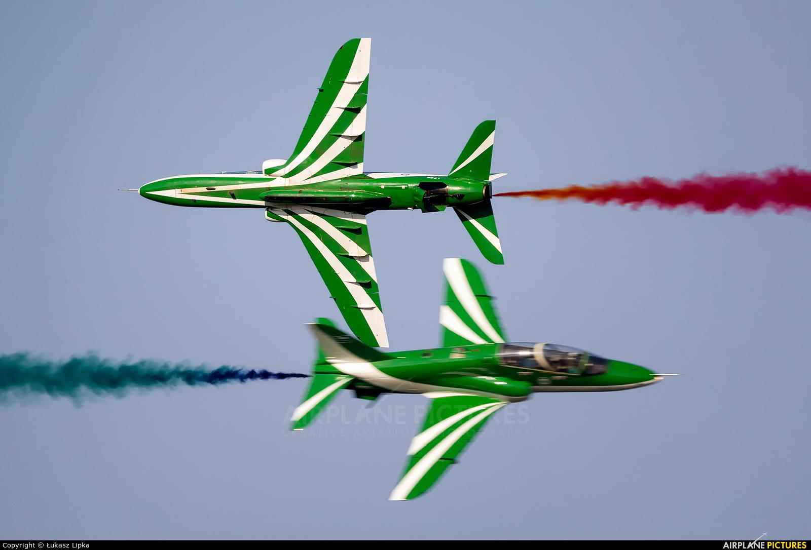 Saudi Arabia - Air Force: Saudi Hawks 8821 aircraft at Ostrava Mošnov