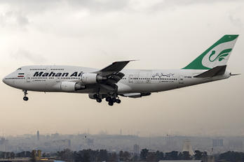 EP-MND - Mahan Air Boeing 747-300