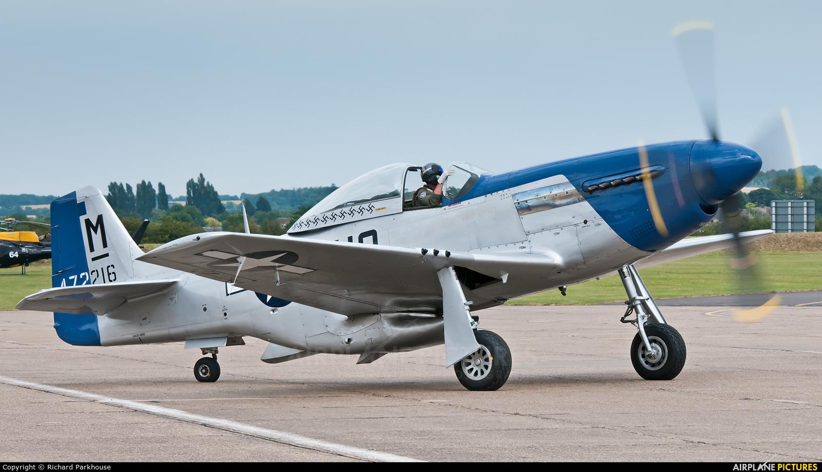 Private G-BIXL aircraft at Duxford