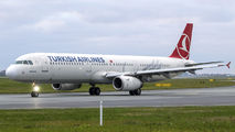TC-JRV - Turkish Airlines Airbus A321 aircraft