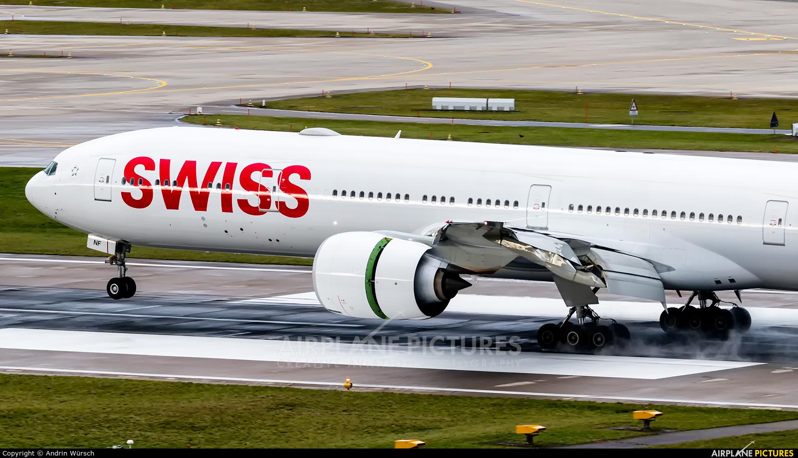 Swiss HB-JNF aircraft at Zurich