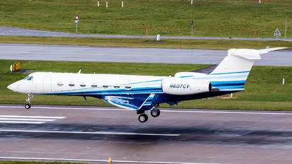 N607CV - Wilmington Trust Company Gulfstream Aerospace G-V, G-V-SP, G500, G550