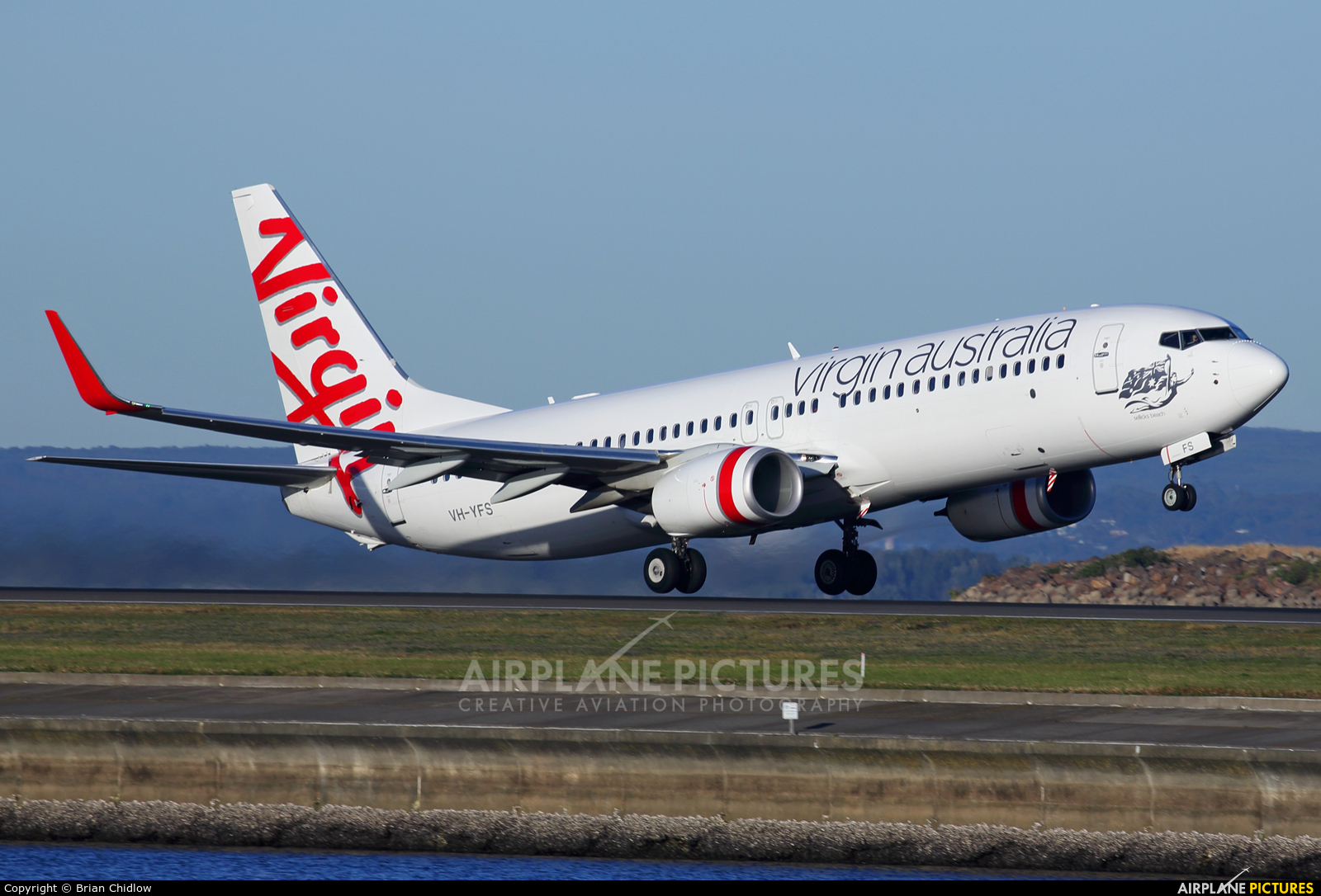 Virgin Australia VH-YFS aircraft at Sydney - Kingsford Smith Intl, NSW