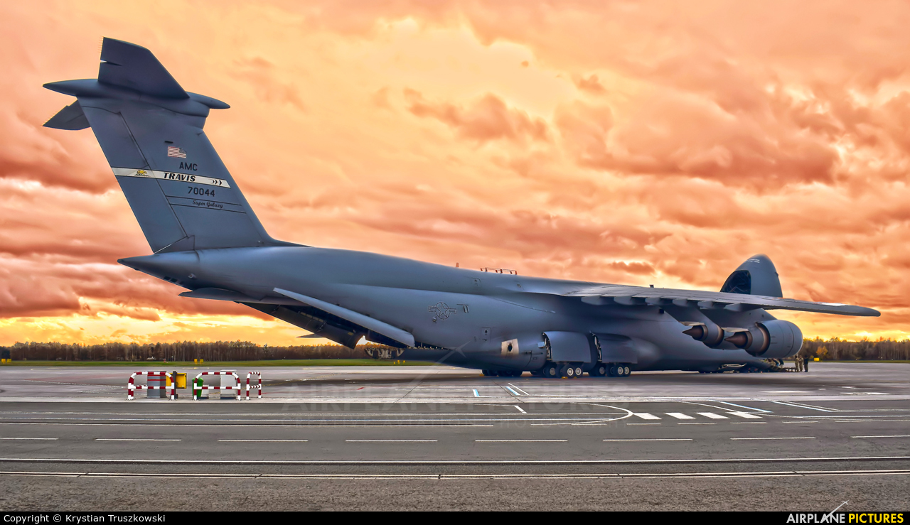USA - Air Force 87-0044 aircraft at Wrocław - Copernicus
