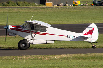 ZK-BKD - Private Piper PA-18 Super Cub