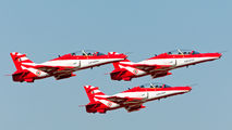 A3702 - India - Air Force British Aerospace Hawk 132 aircraft