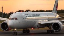 JA863J - JAL - Japan Airlines Boeing 787-9 Dreamliner aircraft