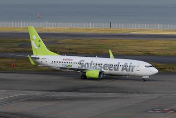 JA801X - Solaseed Air - Skynet Asia Airways Boeing 737-800