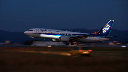 JA86AN - ANA - All Nippon Airways Boeing 737-800