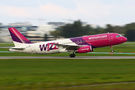 Wizz Air Airbus A320 HA-LPO at Warsaw - Frederic Chopin airport