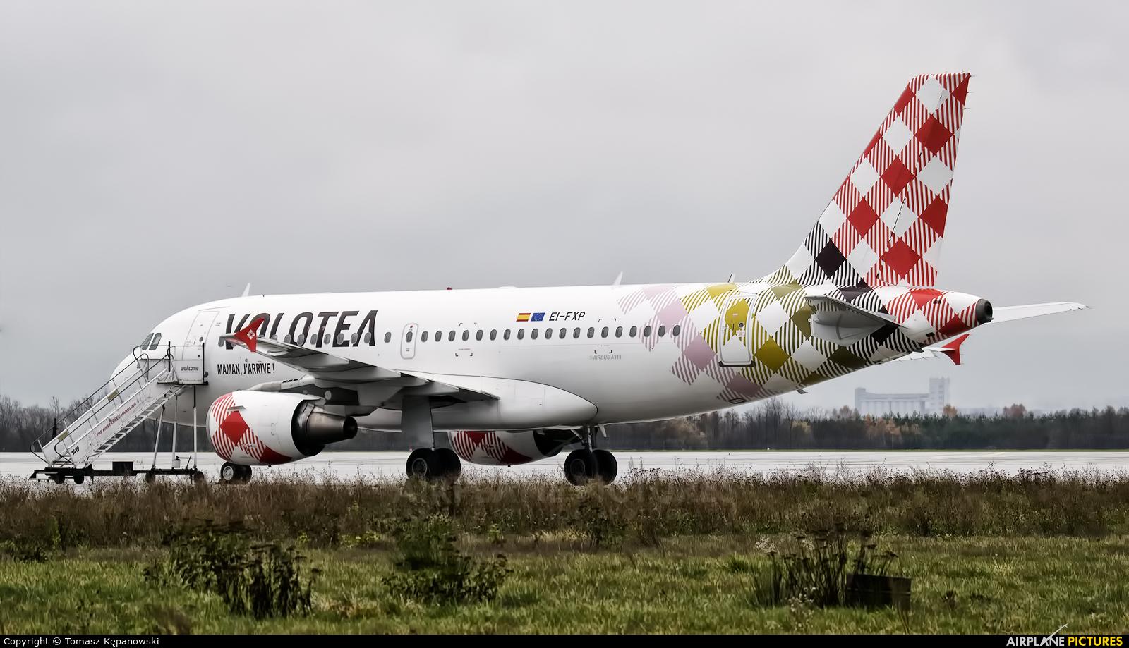 Volotea Airlines EI-FXP aircraft at Rzeszów-Jasionka
