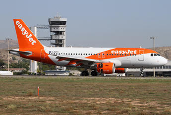 G-EZFC - easyJet Airbus A319