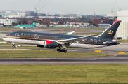 JY-BAF - Royal Jordanian Boeing 787-8 Dreamliner aircraft