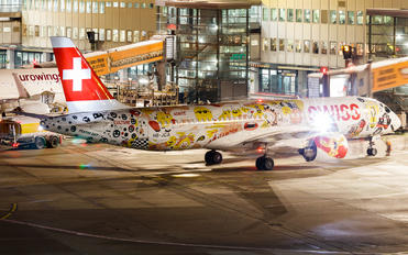 HB-JCA - Swiss Bombardier CS100