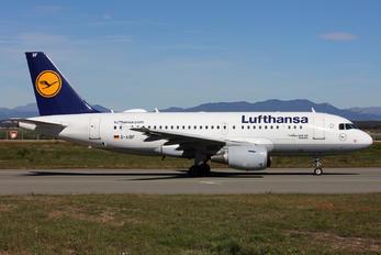 D-AIBF - Lufthansa Airbus A319