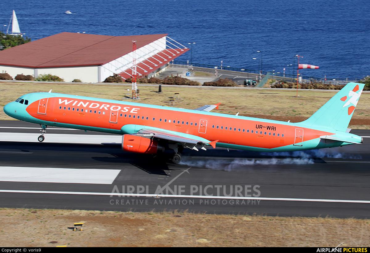 Windrose Air UR-WRI aircraft at Madeira