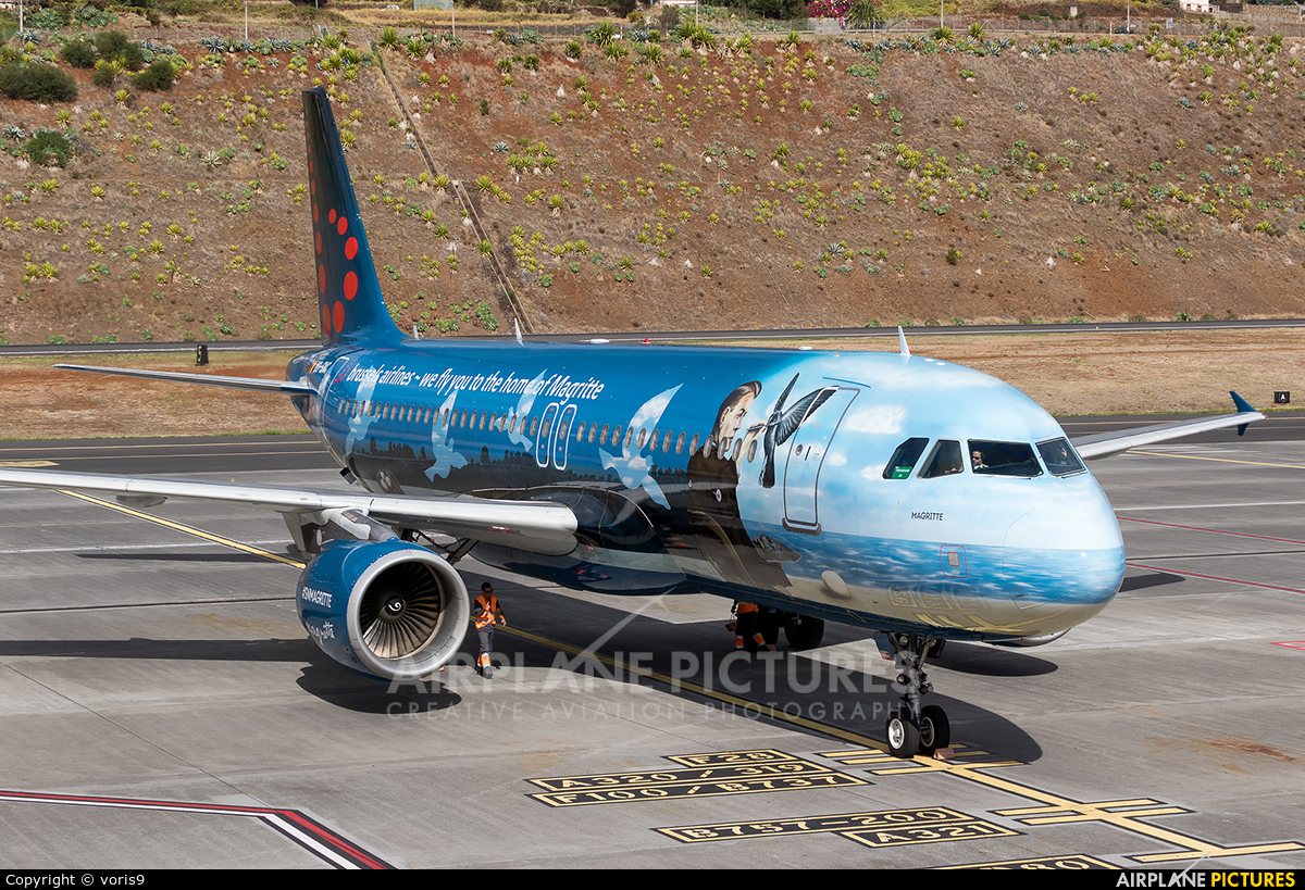 Brussels Airlines OO-SNC aircraft at Madeira