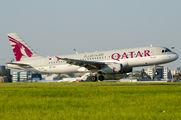 A7-ADJ - Qatar Airways Airbus A320 aircraft