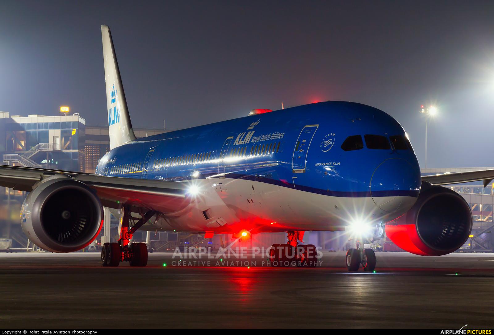 KLM PH-BHI aircraft at Mumbai - Chhatrapati Shivaji Intl