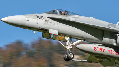 J-5006 - Switzerland - Air Force McDonnell Douglas F/A-18C Hornet
