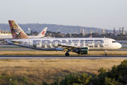 N201FR - Frontier Airlines Airbus A320 aircraft