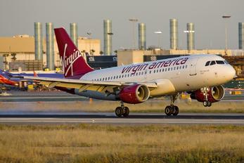 N525VA - Virgin America Airbus A319