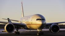 A6-DDC - Etihad Cargo Boeing 777F aircraft