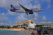 N621NK - Spirit Airlines Airbus A320 aircraft