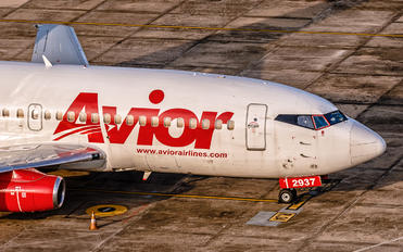 YV2937 - Avior Airlines Boeing 737-200