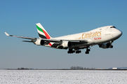 OO-THC - Emirates Sky Cargo Boeing 747-400F, ERF aircraft
