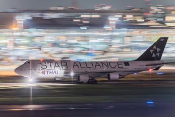 HS-TGW - Thai Airways Boeing 747-400