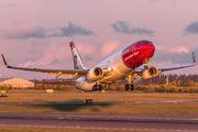 EI-FJZ - Norwegian Air International Boeing 737-800 aircraft