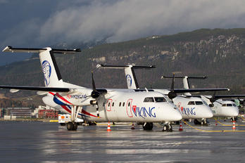 LN-FVA - FlyViking de Havilland Canada DHC-8-100 Dash 8