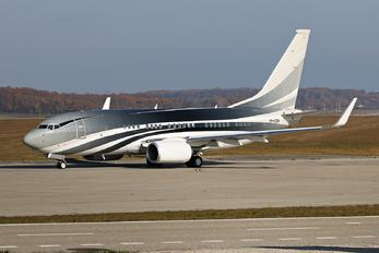 VP-CZW - Unknown Boeing 737-700 BBJ