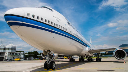 9K-GAA - Kuwait - Government Boeing 747-8 BBJ