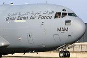 A7-MAM - Qatar Amiri - Air Force Boeing C-17A Globemaster III aircraft