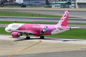 JA816P - Peach Aviation Airbus A320